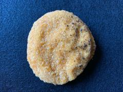 Figure 2 - Uneven color on a chicken patty with burnt breading